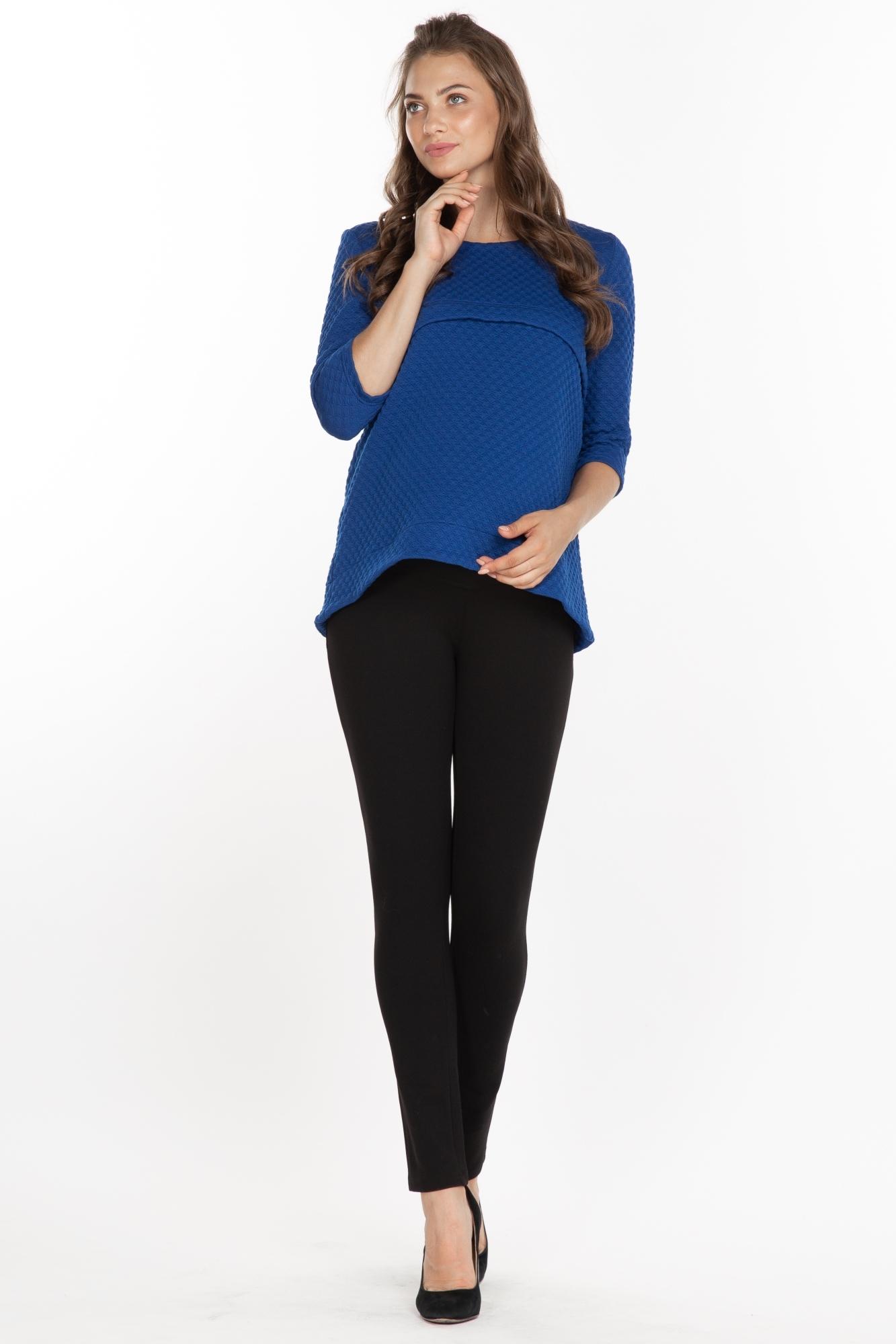 Утепленные брюки для беременных 03079 черный