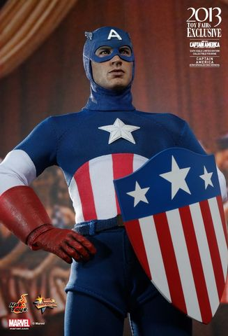 The First Avenger Captain America - Star Spangled Man Exclusive