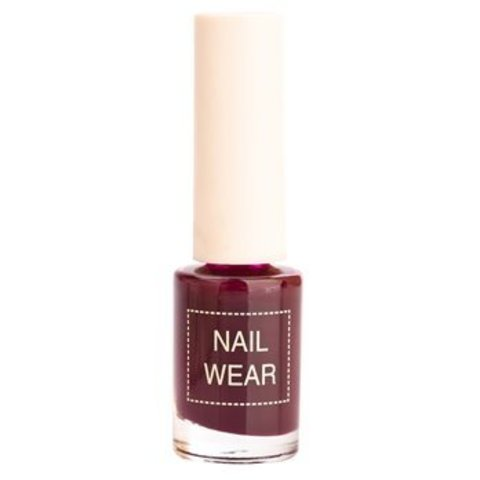 Лак для ногтей The Saem Nail Wear 93 Retro purple 7 мл