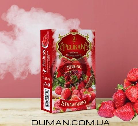 Табак Pelikan Strong Strawberry (Пеликан Сочная Клубника)