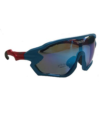 Спортивные очки KV+  DELTA CW56 синие линзы с вентиляцией