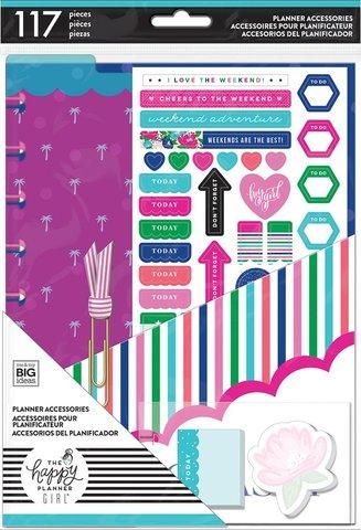 Дополнительный блок  для ежедневника Happy Planner Classic -Happy Planner Medium Accessories -Socialite