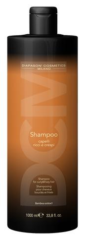 Шампунь для вьющихся и кудрявых волос с экстрактом бамбука -