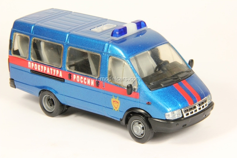 GAZ-3221 Gazelle Prosecutor's office Russia second facing Agat Mossar Tantal 1:43