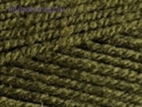 Cotton gold PLUS 214 Оливковый Alize - фото