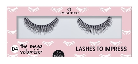 Накладные ресницы Essence Lashes To Impress, 04 The Mega Volumizer