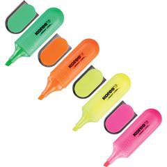Набор текстовыделителей Kores (толщина линии 0.5-5 мм, 4 цвета)