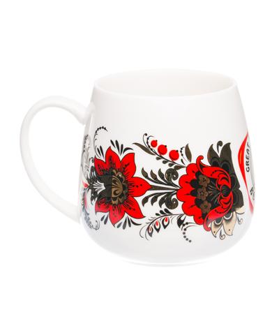 """VELIKOROSS mug """"Golden time"""""""