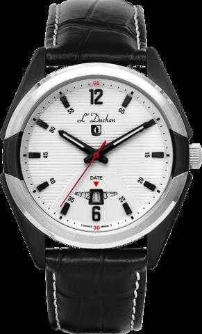 Купить Мужские швейцарские наручные часы L'Duchen D 191.01.13 по доступной цене