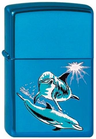 Зажигалка Zippo Dolphins