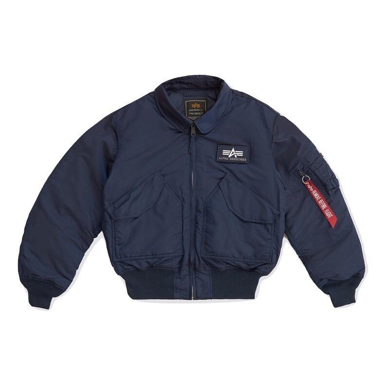 Куртка Alpha Industries CWU 45/P Replica blue (синяя)