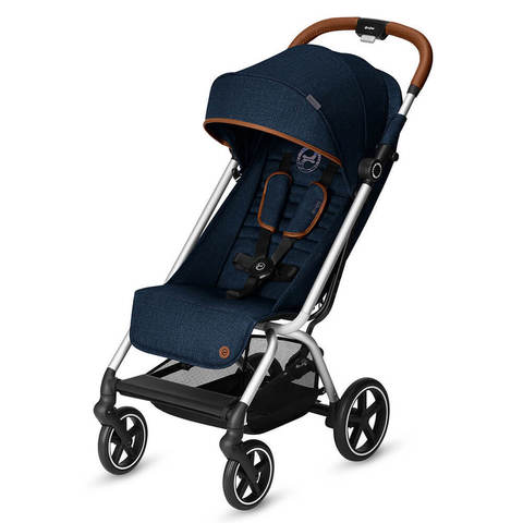 Прогулочная коляска Cybex Eezy S Plus Denim Collection Denim Blue