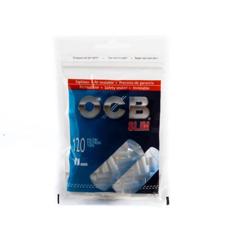 Фильтры для самокруток OCB Slim 120шт