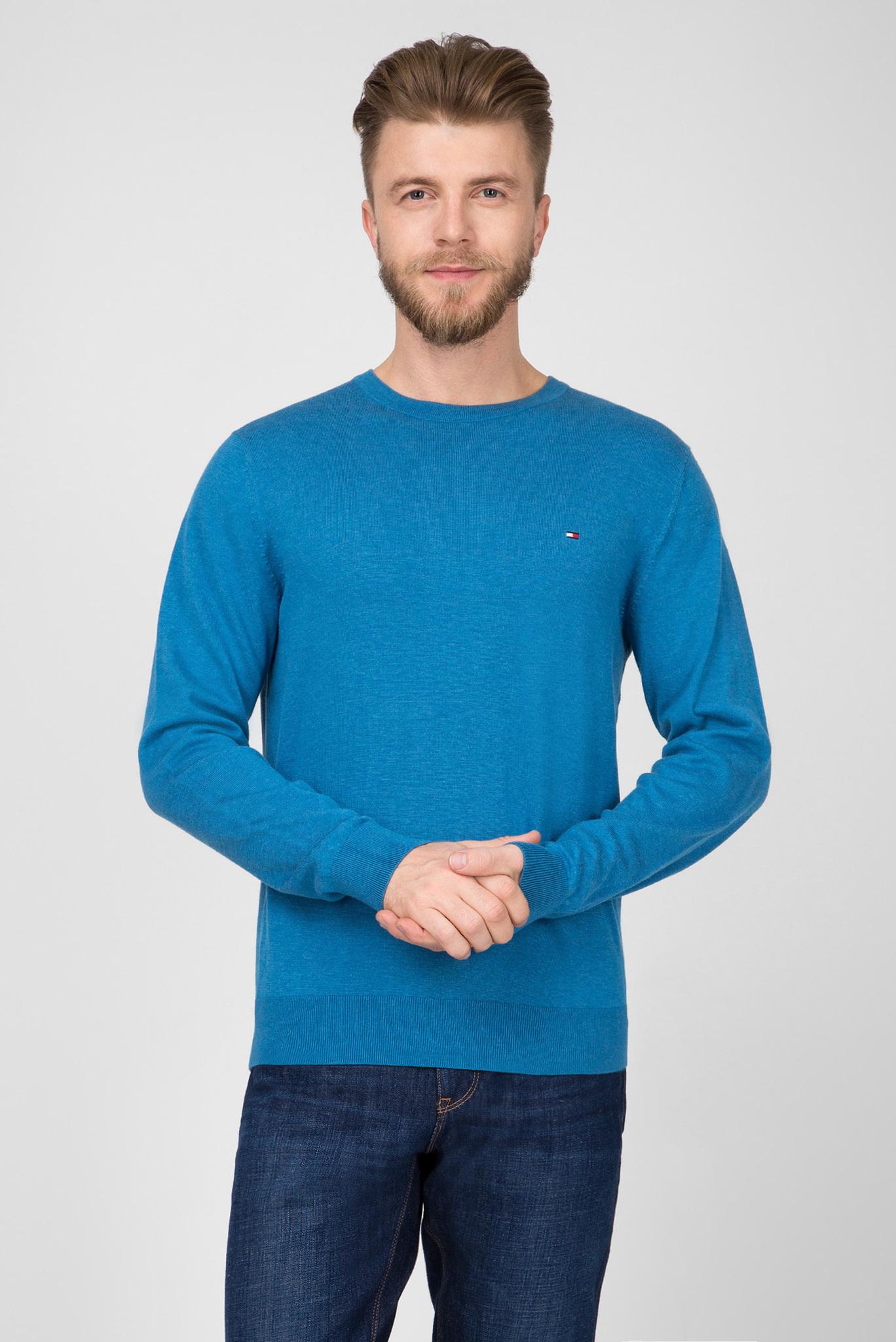 Мужской голубой джемпер Tommy Hilfiger