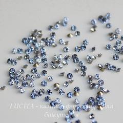 1028 Стразы Сваровски Light Sapphire PP 13 (1,9-2 мм), 10 штук
