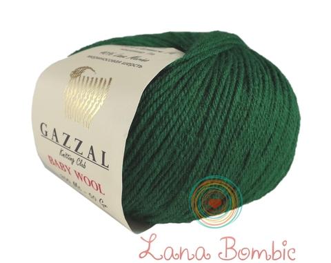 Пряжа Gazzal Baby Wool изумруд 814