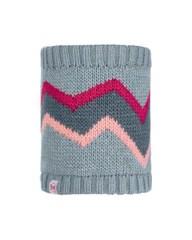 Шарф-труба вязаный с флисовой подкладкой детский Buff Neckwarmer Knitted Polar Arild Grey