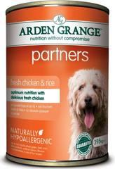 Консервированный корм для собак, Arden Grange Partners Chicken & Rice, с цыпленком, рисом и овощами