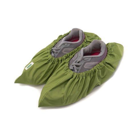 Многоразовые бахилы ZEERO Dewspo с мешочком, зеленые