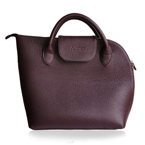 Асиметричная кожаная сумка