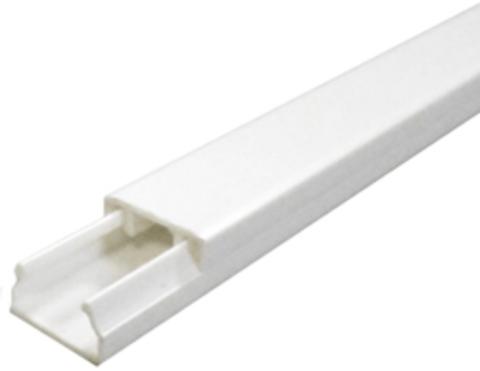 ECO 25Х16 Миниканал 25Х16 мм. 1шт=1м. Цвет Белый. Ecoplast (ЭКОПЛАСТ). 77207