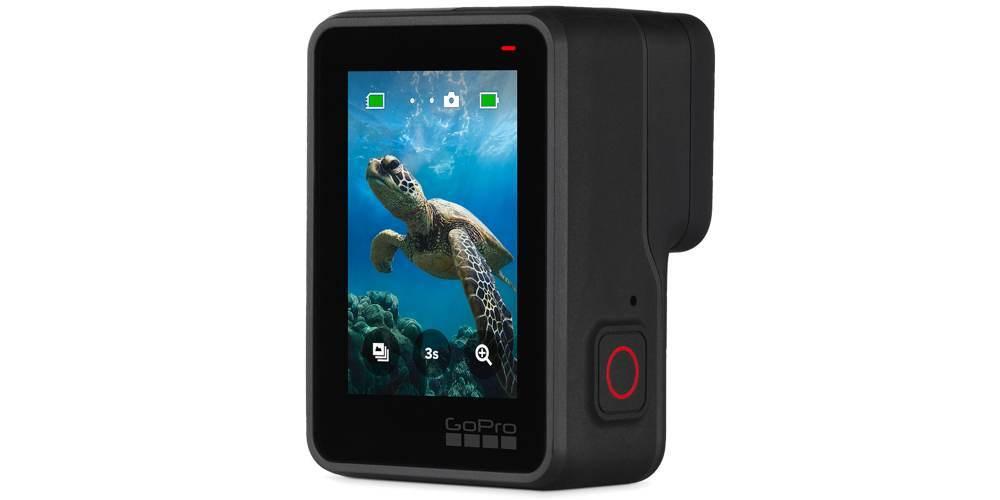 Видеокамера GoPro HERO7 Black Edition + SD Card (CHDSB-701) вертикально