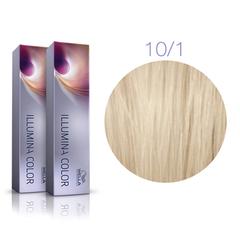 Wella Professional Illumina Color 10/1 (Яркий Блонд - Пепельный) - Стойкая крем-краска для волос