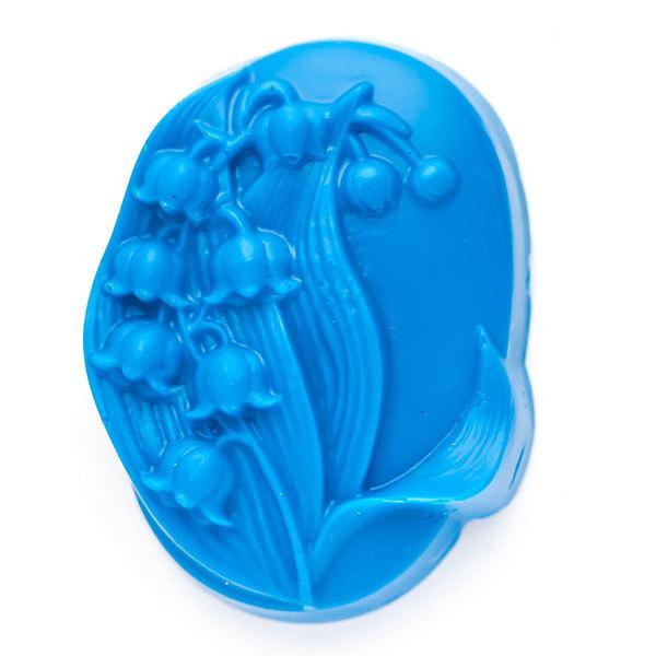 Пластиковая форма для мыла Ландыш