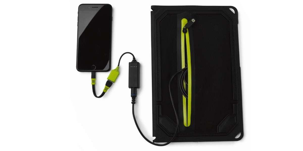 Солнечная панель Goal Zero Nomad 14 Plus зарядка смартфона