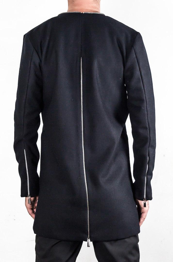 Легкая куртка с молниями «WENO»