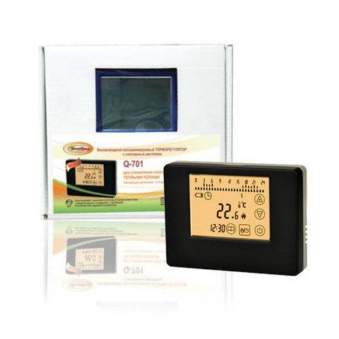 Терморегулятор Q-701, беспроводной, сенсорный, программируемый