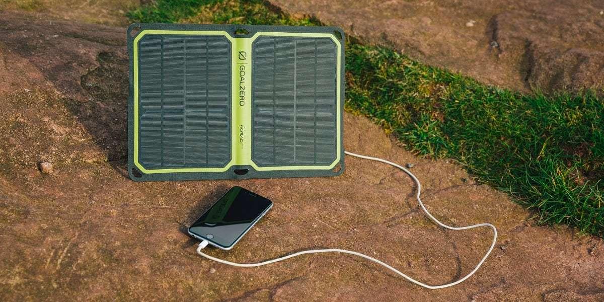 Солнечная панель Goal Zero Nomad 14 Plus зарядка