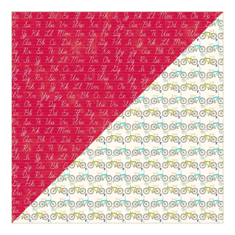 Лист двусторонней бумаги 30 х 30 Alphabet Soup
