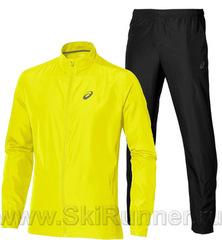 Костюм для бега Asics Woven yellow 2018 мужской