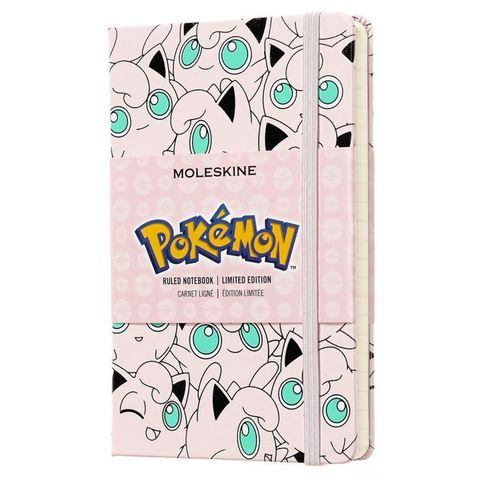 Блокнот Moleskine Limited Edition POKEMON LEPOMM710JG Pocket 90x140мм 192стр. линейка Jigglypuff