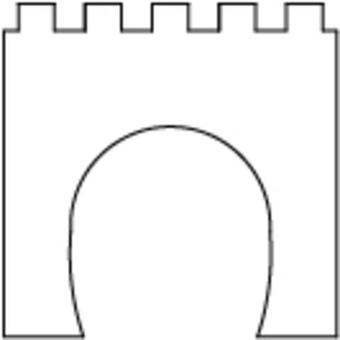 Портал однопутный - 92x92 мм, (TT)