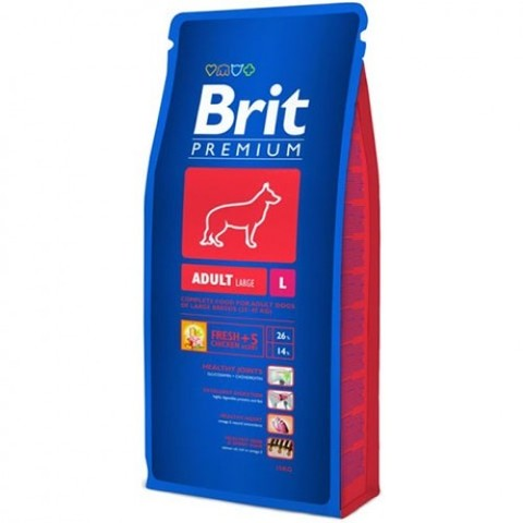 BRIT ADULT L 18 кг