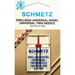 Фото: Игла Twin universal 130/705 H ZWI SES №1-4,0/100
