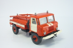 GAZ-66 AC-30(66)-184 Fire Engine red-white Russian Miniature USSR 1:43