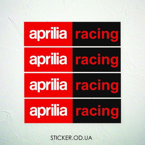 Набор наклеек Aprilia racing