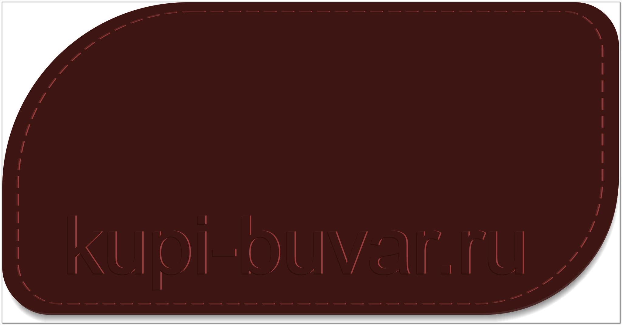 кожаный бювар - подложка на стол Чезана-17