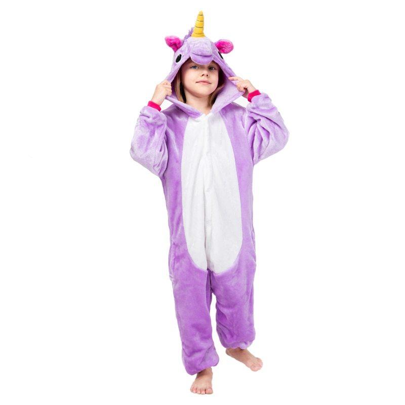Пижамы для детей Фиолетовый Единорог детский HTB1ouFzMjTpK1RjSZKPq6y3UpXaD.jpg