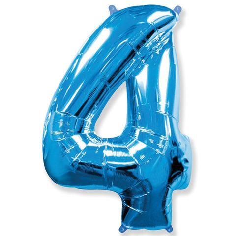 Цифры синие, 102 см