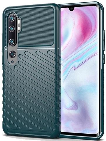 Чехол Xiaomi Mi Note 10 и Mi Note 10 Pro цвет Green (зеленый), серия Onyx, Caseport