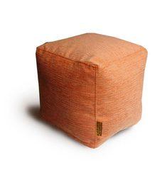 Пуфик куб Днипро Оранжевый
