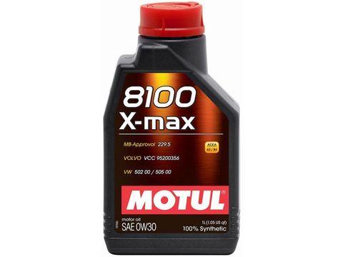 MOTUL 8100 X-max 0w-30 Масло моторное