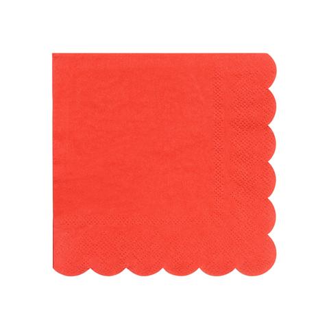 Салфетки красные