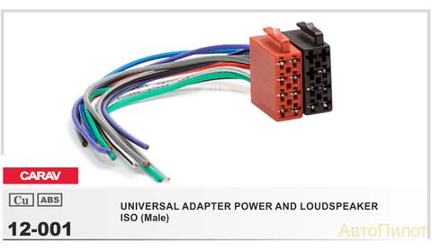 ISO- разъем EVRO 12-001 ПАПА
