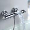 Смеситель термостатический для ванны с каскадным изливом и душевым комплектом BLAUTHERM 943901T3 - фото №2