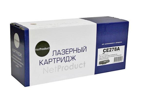 NetProduct №78A CE278A/(Cartridge 728), черный, для HP/Canon